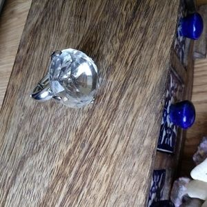 Jewelry - Large Crystal Ring